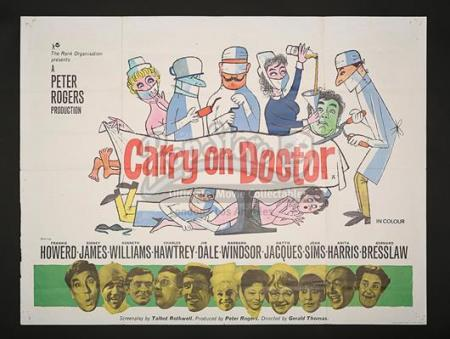 CARRY ON DOCTOR (1967) - UK Quad Poster (1967)
