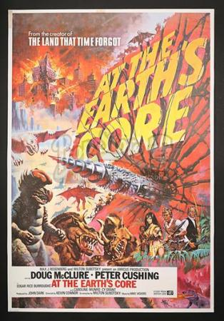 AT THE EARTH'S CORE (1976) - UK 1-Sheet Poster (1976)