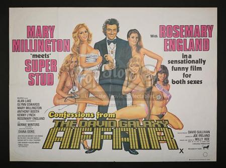CONFESSIONS FROM THE DAVID GALAXY AFFAIR (1979) - UK Quad Poster (1979)