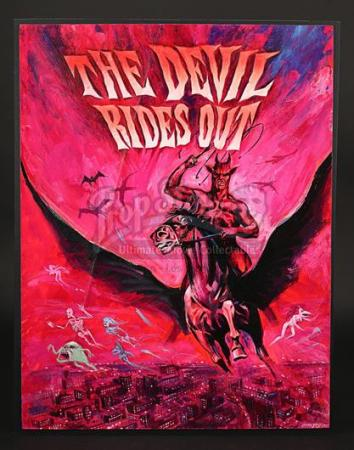 THE DEVIL RIDES OUT (1968) - Prototype Artwork (1968)