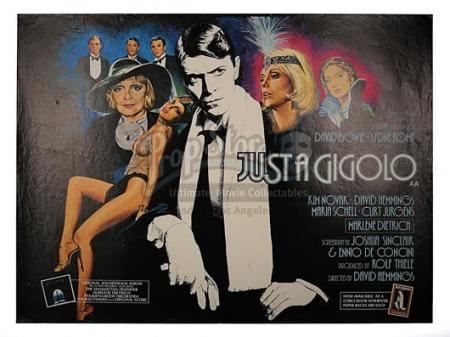 JUST A GIGOLO (1978) - UK Quad Poster (1978)