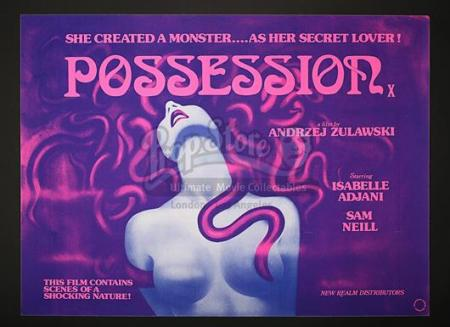 POSSESSION (1981) - UK Quad Poster (1981)