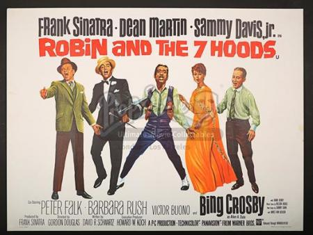 ROBIN AND THE 7 HOODS (1964) - UK Quad Poster (1964)