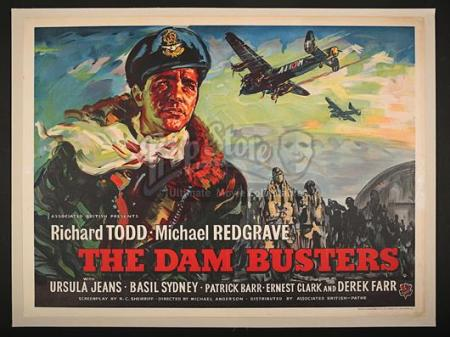 THE DAM BUSTERS (1955) - UK Quad Poster (1955)