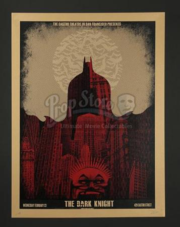 THE DARK KNIGHT(2008) - Two Castro Theatre Posters (2012)