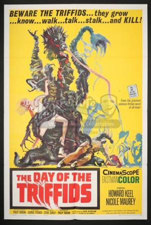 THE DAY OF THE TRIFFIDS (1963) - US 1-Sheet Poster (1963)