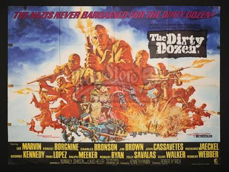 THE DIRTY DOZEN (1967) - UK Quad Poster (1967)