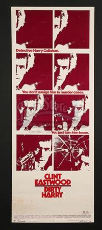DIRTY HARRY (1971) - US Insert Poster (1971)
