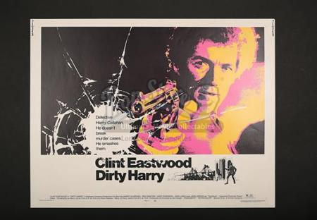 DIRTY HARRY (1971) - US 1/2-Sheet Poster (1971)