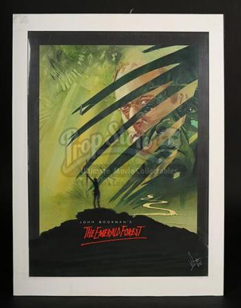 THE EMERALD FOREST (1985) - UK Poster Artwork (1985)