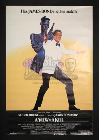 JAMES BOND: A VIEW TO A KILL (1985) - UK 1-Sheet Poster (1985)