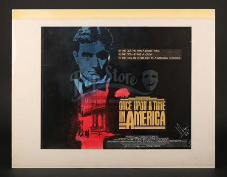 ONCE UPON A TIME IN AMERICA (1984) - Prototype Artwork (1984)