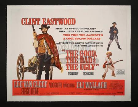 THE GOOD, THE BAD AND THE UGLY (1966) - UK Quad Poster (1966)