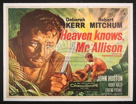 HEAVEN KNOWS, MR. ALLISON (1957) - UK Quad Poster (1957)