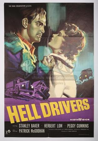 HELL DRIVERS (1957) - UK 1-Sheet Poster (1957)