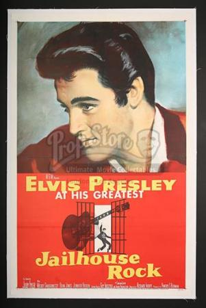 JAILHOUSE ROCK (1957) - US 1-Sheet Poster (1957)