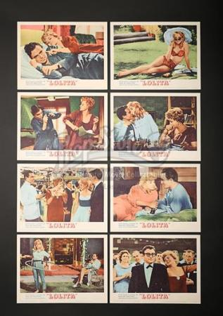 LOLITA (1962) - Eight US Lobby Cards (1962)