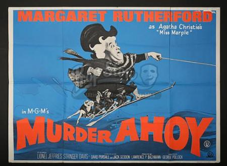 MURDER AHOY (1964) - UK Quad Poster (1964)