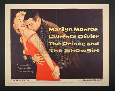 THE PRINCE AND THE SHOWGIRL (1957) - US 1/2-Sheet Poster (1957)