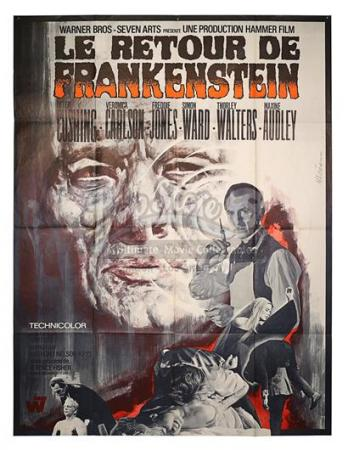 FRANKENSTEIN MUST BE DESTROYED (1969) - French Grand Affiche (1969)