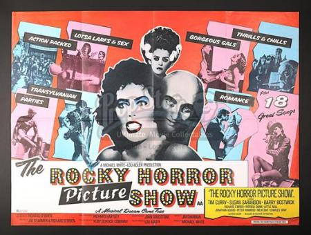 THE ROCKY HORROR PICTURE SHOW (1975) - UK Quad Poster (1975)