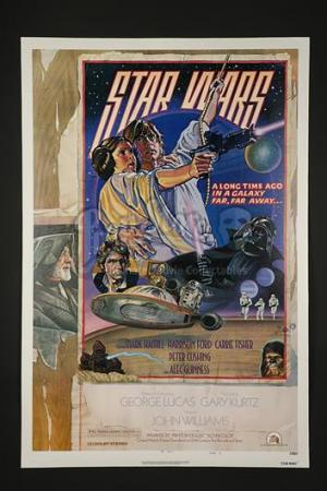 STAR WARS: A NEW HOPE (1977) - US 1-Sheet Style-D Poster (1977)