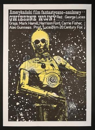 STAR WARS: A NEW HOPE (1977) - Polish 1-Sheet Poster (1978)