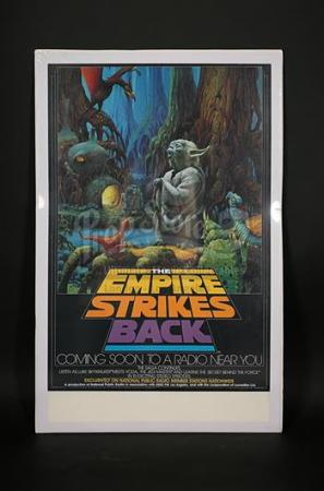 STAR WARS: THE EMPIRE STRIKES BACK (1980) - US National Public Radio Poster (1982)