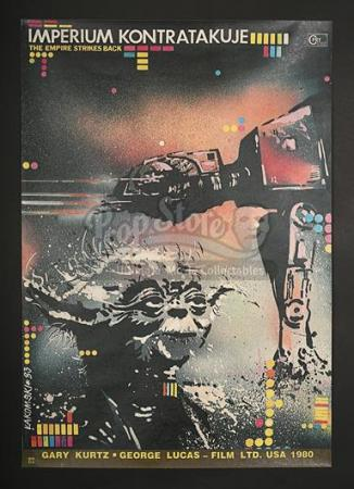 STAR WARS: THE EMPIRE STRIKES BACK (1980) - Polish 1-Sheet Poster (1983)