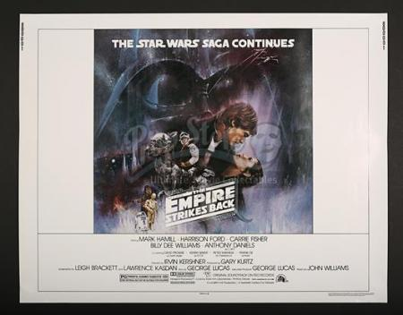 "STAR WARS: THE EMPIRE STRIKES BACK (1980) - US 1/2-Sheet ""Gone With The Wind"" Poster (1980)"