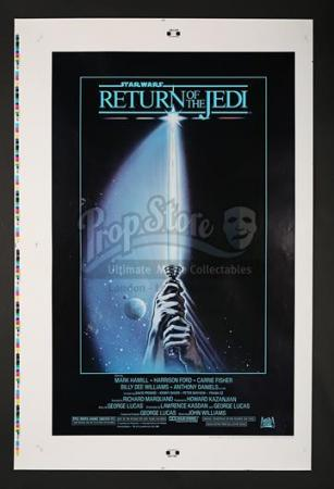 "STAR WARS: RETURN OF THE JEDI (1983) - US 1-Sheet Style-A ""Printers Proof"" Poster (1983)"