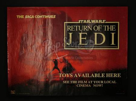 STAR WARS: RETURN OF THE JEDI (1983) - UK Toy Poster (1983)