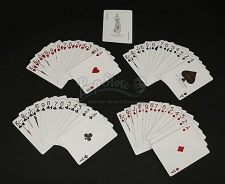 Pack of Throwing Cards