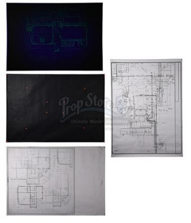 Blueprints and UV Torch