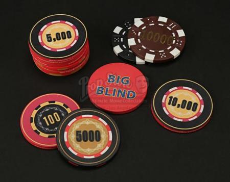 Assorted Poker Chips