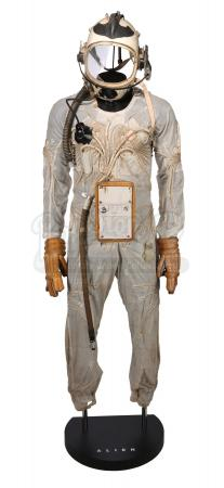 ALIEN (1979) - Nostromo Shuttle Emergency Spacesuit