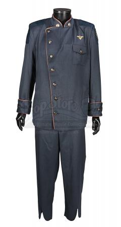 BATTLESTAR GALACTICA (TV 2004-2009) - William Adama's (Edward James Olmos) Duty Blues Costume
