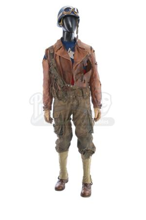 CAPTAIN AMERICA: THE FIRST AVENGER (2011) - Captain America's (Chris Evans) Distressed Army Rescue Costume