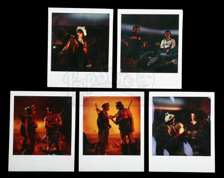 CONAN THE BARBARIAN (1982) - Set of Five Behind-The-Scenes Polaroids