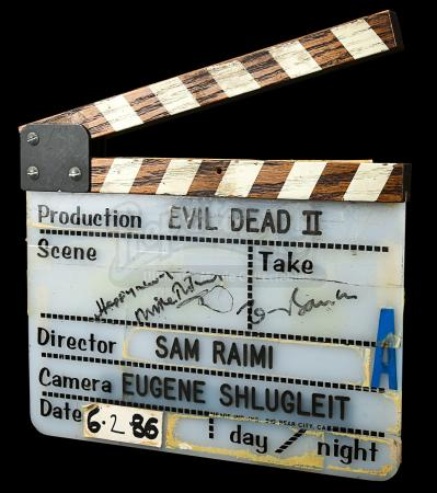 EVIL DEAD 2 (1987) - A' Camera Clapperboard