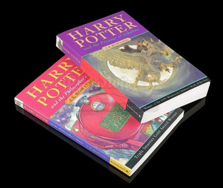 HARRY POTTER AND THE PHILOSOPHER'S STONE (2001) - J.K. Rowling and Cast Autographed Books