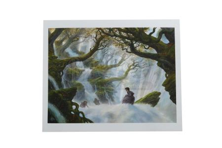 "THE HOBBIT: THE DESOLATION OF SMAUG (2013) - John Howe Hand-Painted ""The Hobbit"" Artwork"