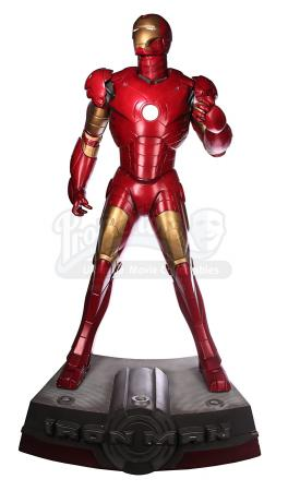 IRON MAN (2008) - Full-Scale Iron Man Replica Statue