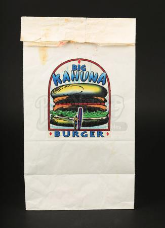 PULP FICTION (1994) - Big Kahuna Burger Bag