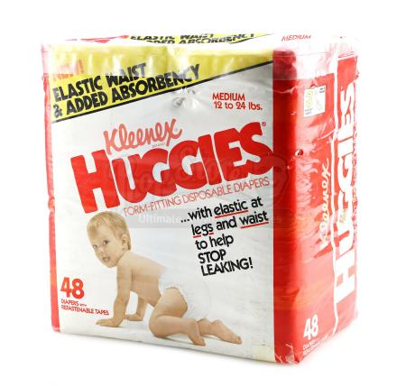 RAISING ARIZONA (1987) - H.I. McDunnough's (Nicolas Cage) Diapers