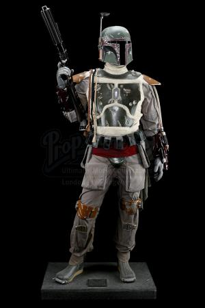 STAR WARS: THE EMPIRE STRIKES BACK (1980) - Don Post Lifesize Boba Fett Statue