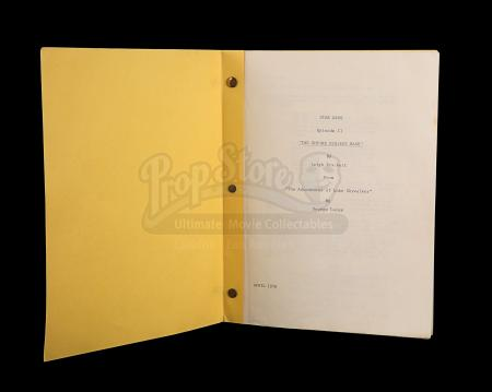 STAR WARS: THE EMPIRE STRIKES BACK (1980) - Brian Johnson's Personal Script