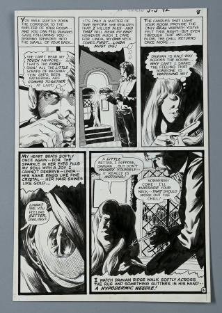 SWAMP THING / HOUSE OF SECRETS #92 (1971) - Bernie Wrightson Hand-Drawn Page Six Artwork