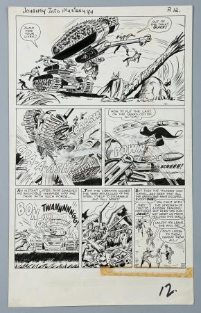 THOR / JOURNEY INTO MYSTERY #84 (1962) - Jack Kirby and Dick Ayers Hand-Drawn Page 10 Artwork