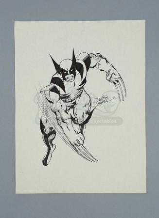 X-MEN (CIRCA LATE 1970'S TO 1980) - John Byrne Hand-Drawn Wolverine Artwork Commission